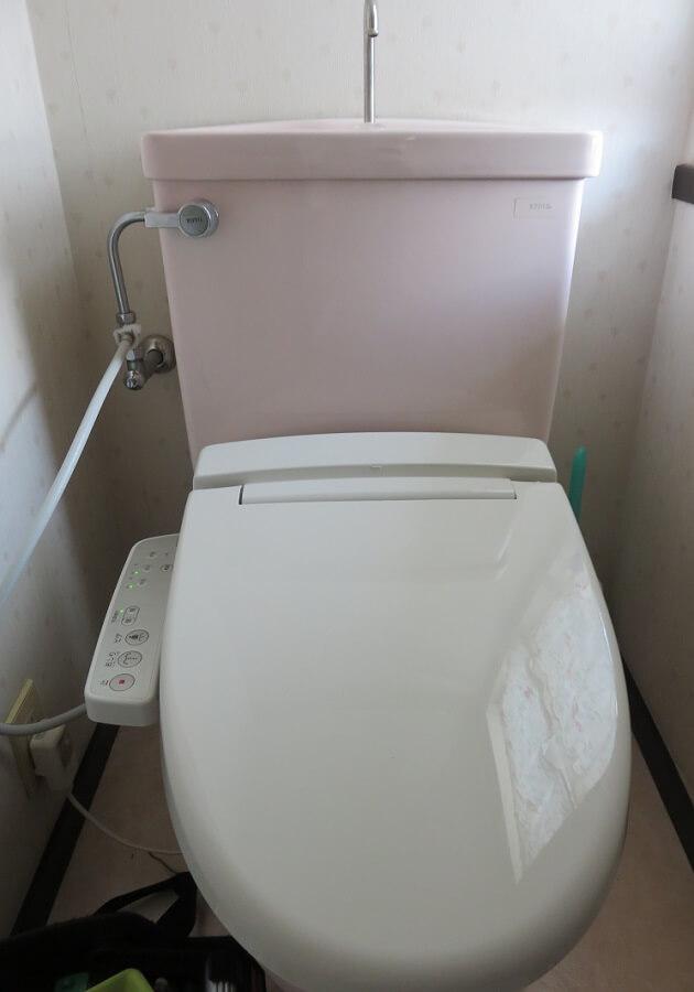 シャワートイレ交換