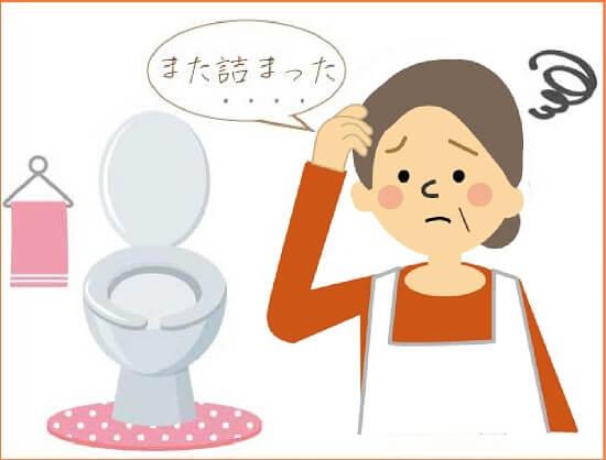 トイレ詰まりの原因
