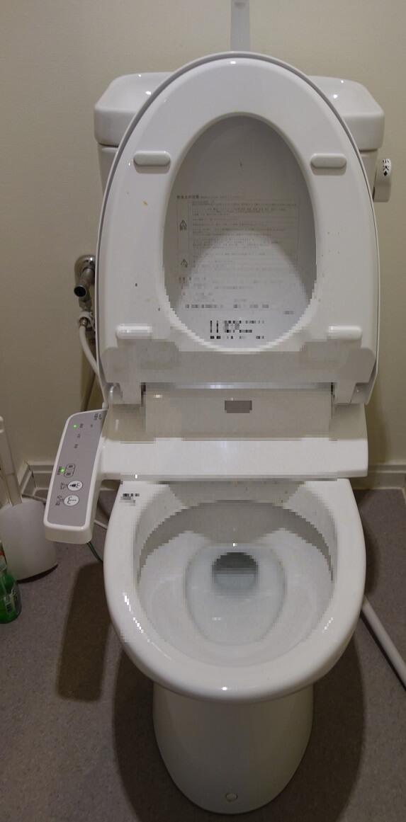 INAXトイレの流れが悪い