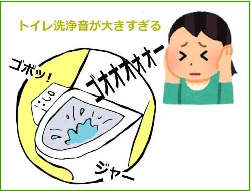 トイレの音