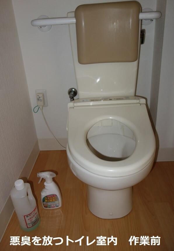 便器下の掃除