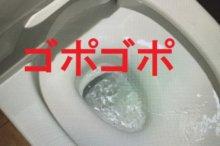 ゴポゴポ音のトイレアイキャッチ